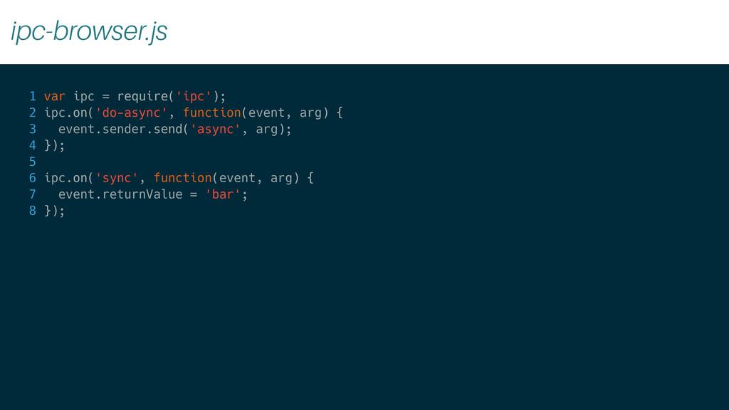 ipc-browser.js 1 var ipc = require('ipc'); 2 ip...