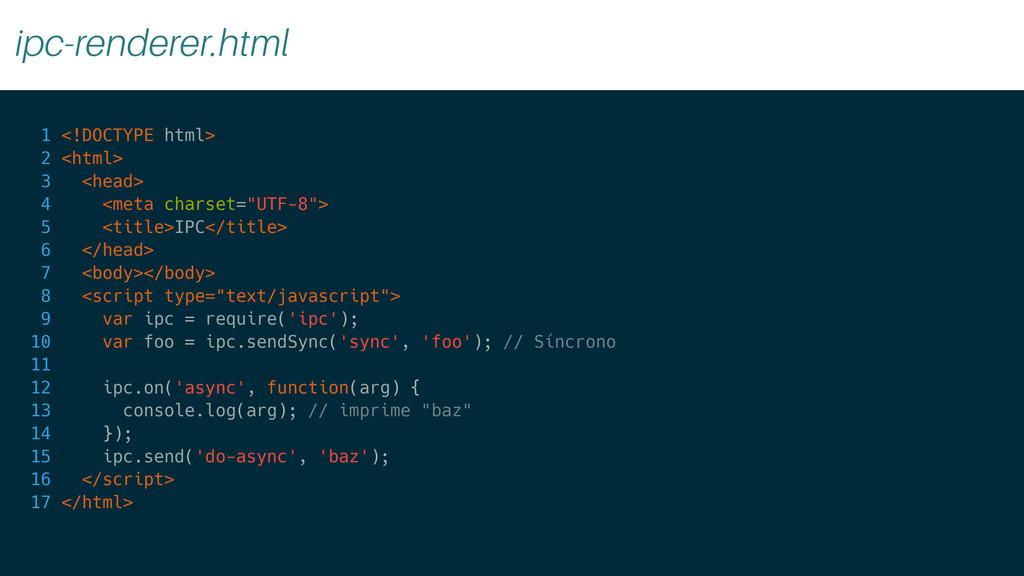 ipc-renderer.html 1 <!DOCTYPE html> 2 <html> 3 ...