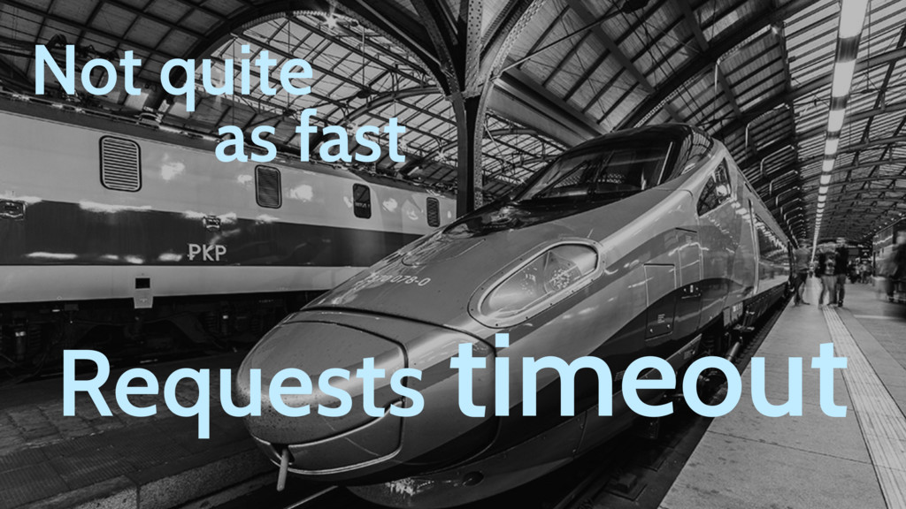 Not quite as fast Requests timeout