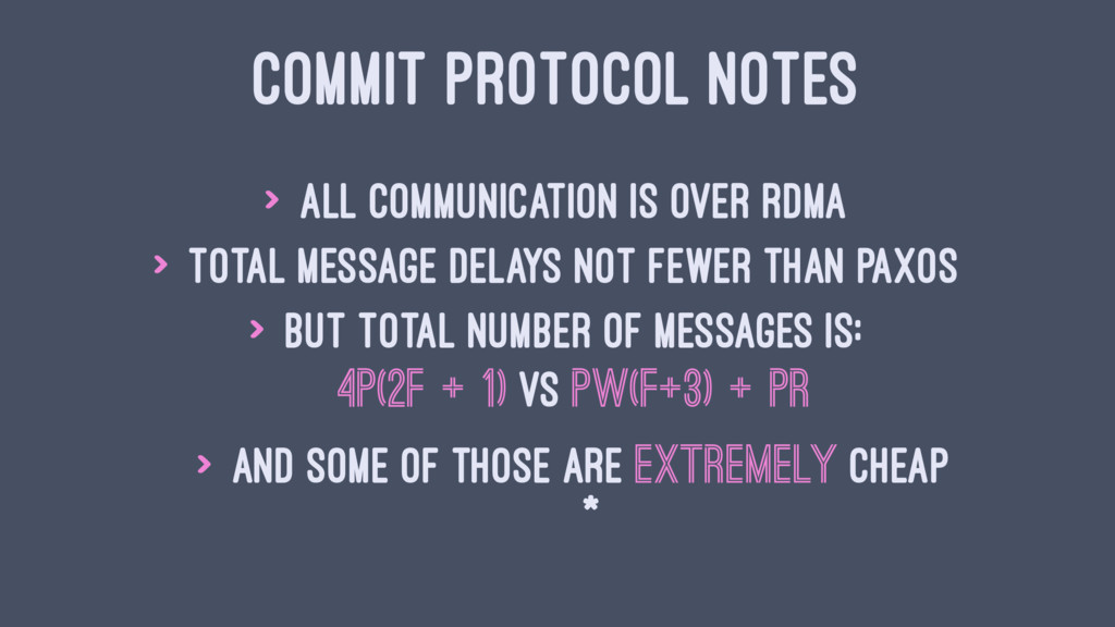 COMMIT PROTOCOL NOTES > All communication is ov...