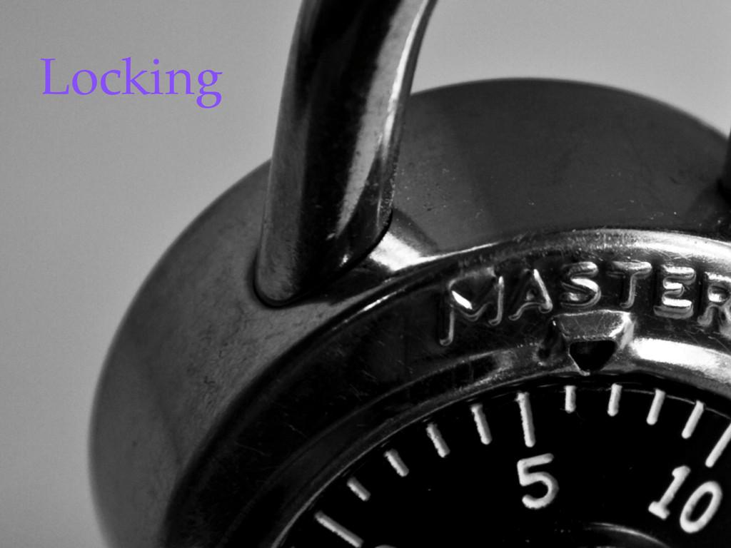 ©2012 DataStax Locking