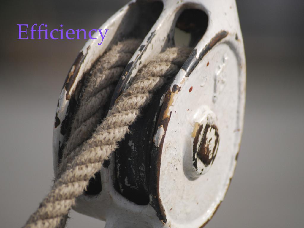 ©2012 DataStax Efficiency