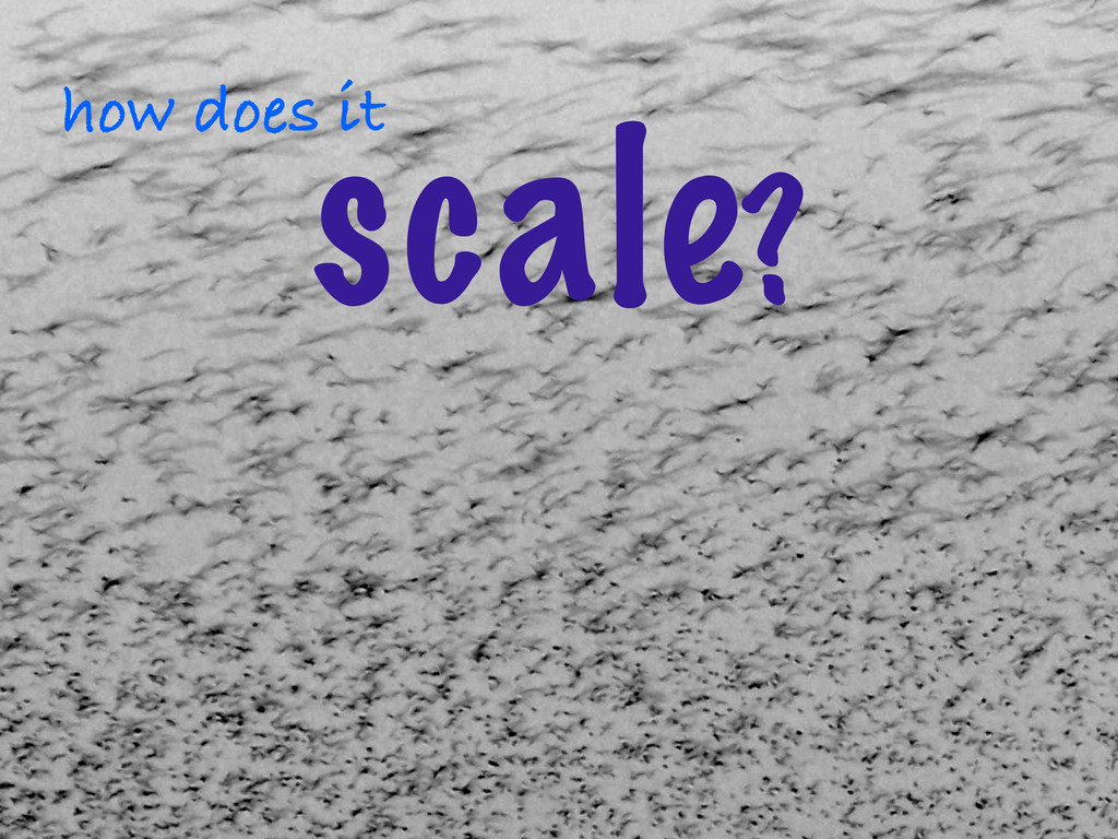 ©2012 DataStax how does it scale?