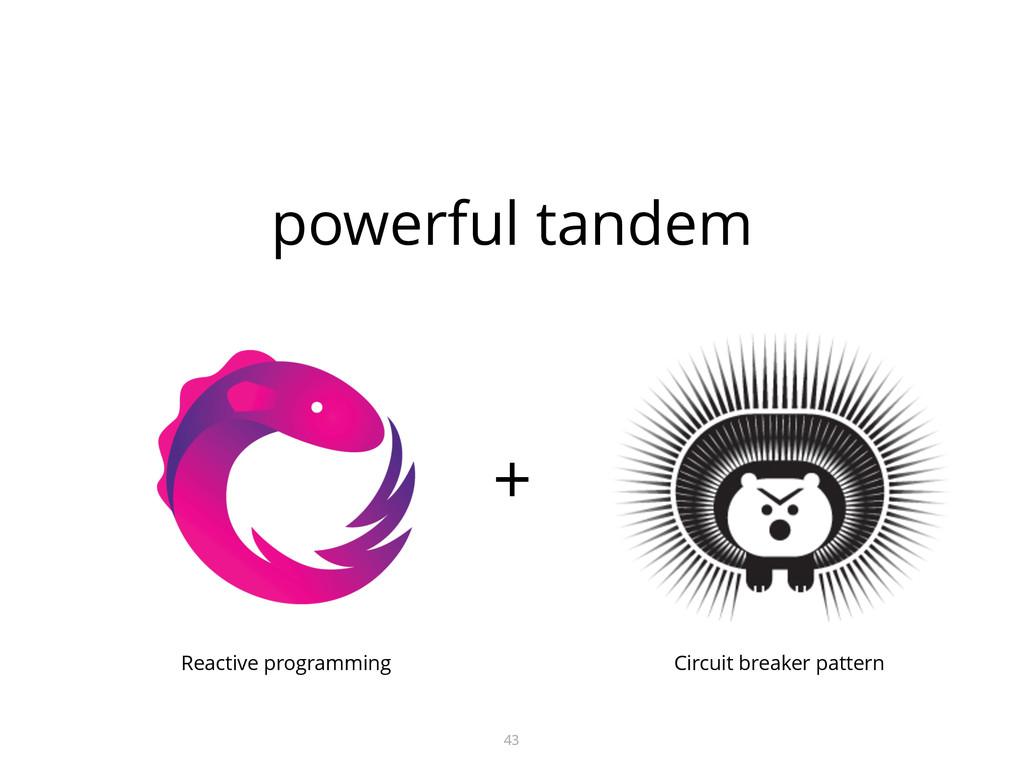 powerful tandem 43 + Reactive programming Circu...