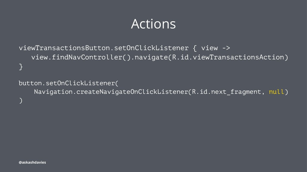 Actions viewTransactionsButton.setOnClickListen...
