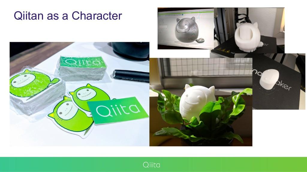 Qiitan as a Character