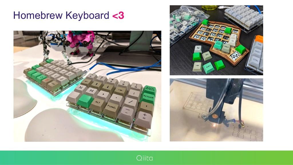 Homebrew Keyboard <3