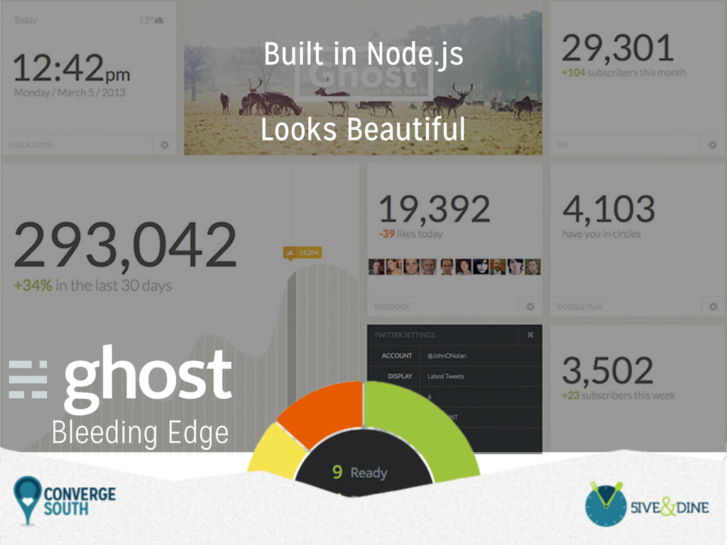 Bleeding Edge Built in Node.js Looks Beautiful