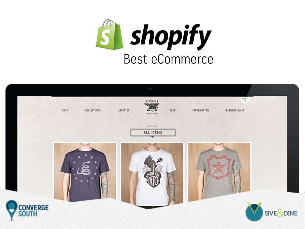Best eCommerce