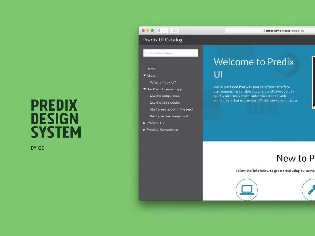 Predix Design System by GE