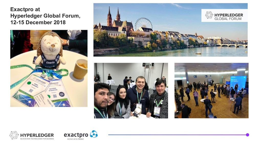 Exactpro at Hyperledger Global Forum, 12-15 Dec...
