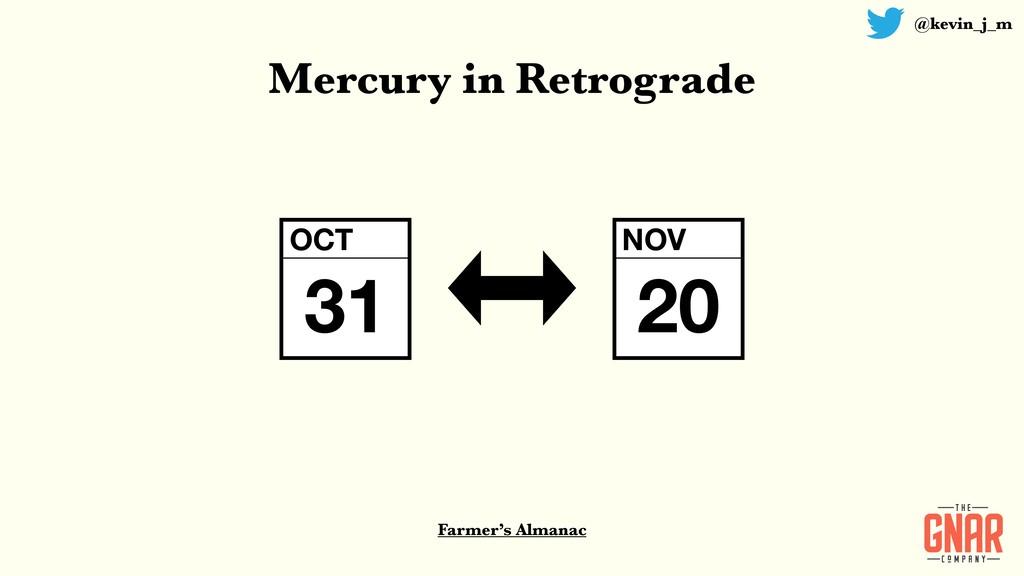 @kevin_j_m Farmer's Almanac Mercury in Retrogra...