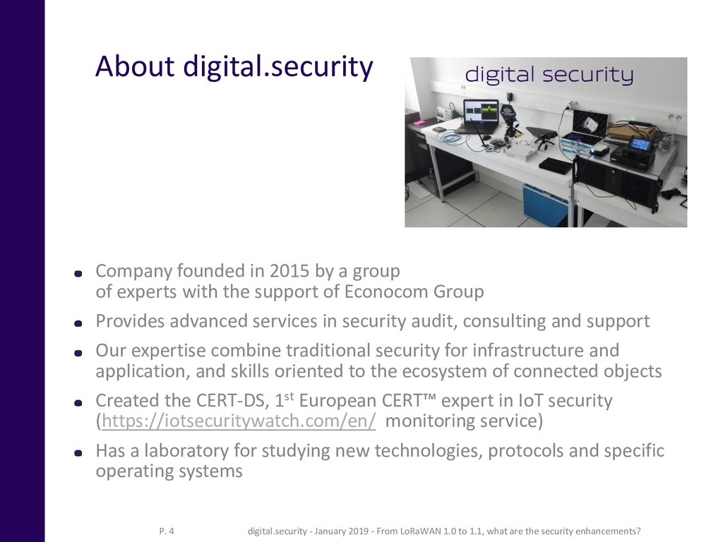 About digital.security Company founded in 2015 ...