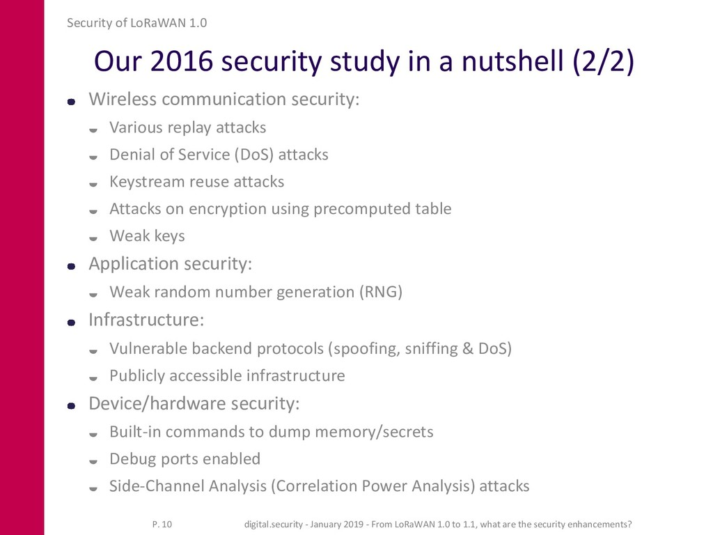 Our 2016 security study in a nutshell (2/2) Wir...