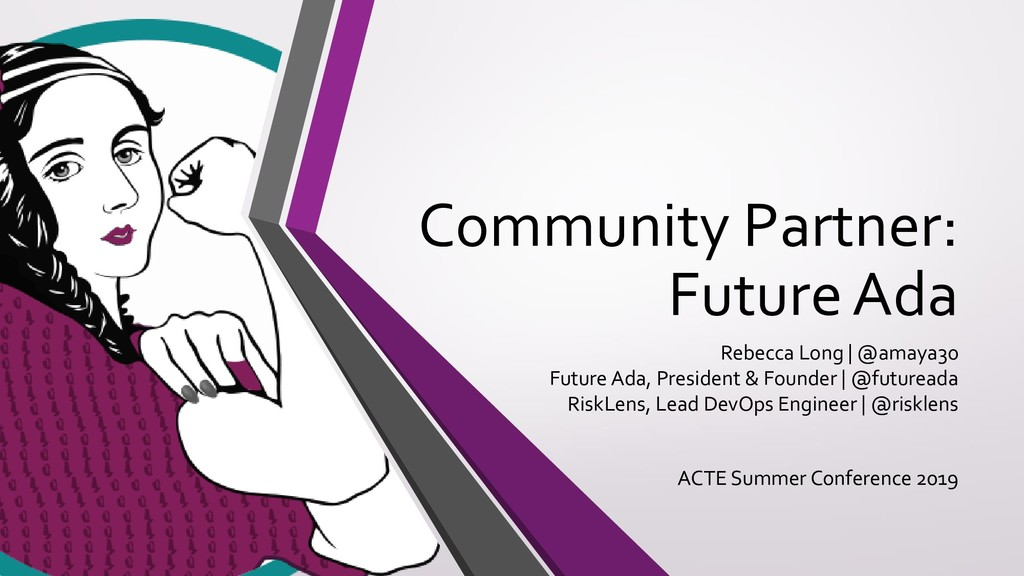 Community Partner: Future Ada Rebecca Long | @a...