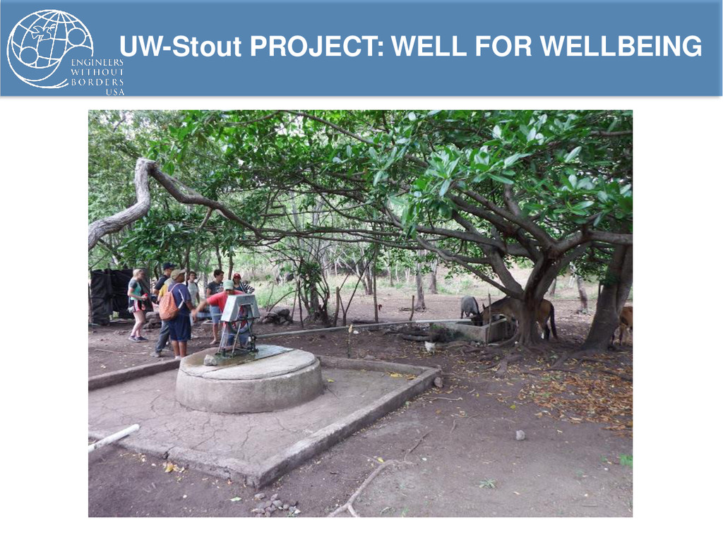 UW-Stout PROJECT: WELL FOR WELLBEING
