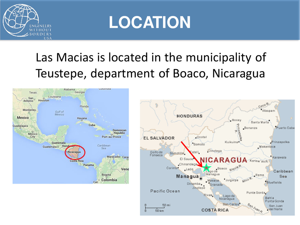 Las Macias is located in the municipality of Te...