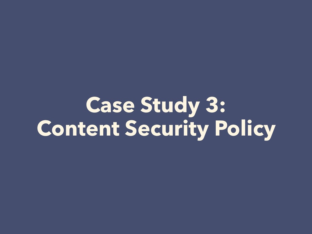 Case Study 3: