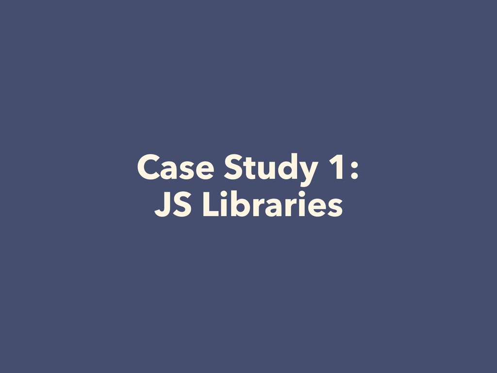 Case Study 1: