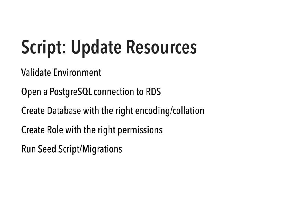 Script: Update Resources Validate Environment O...
