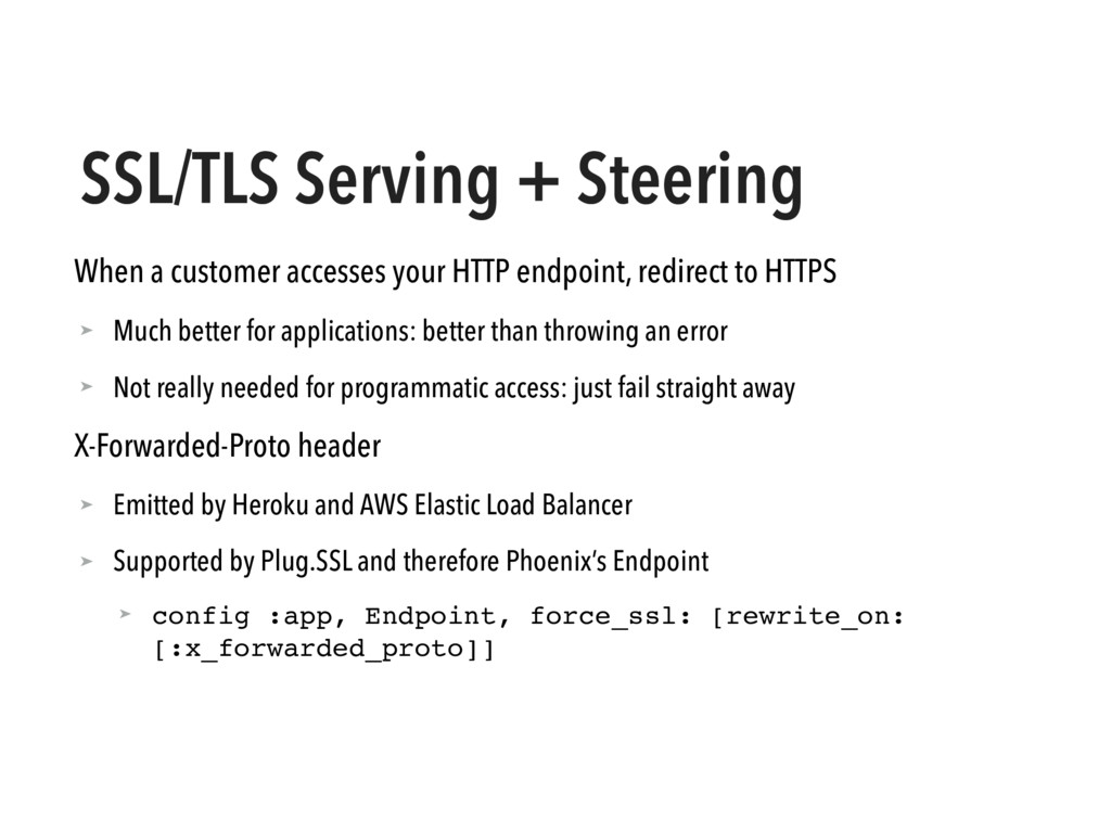 SSL/TLS Serving + Steering When a customer acce...