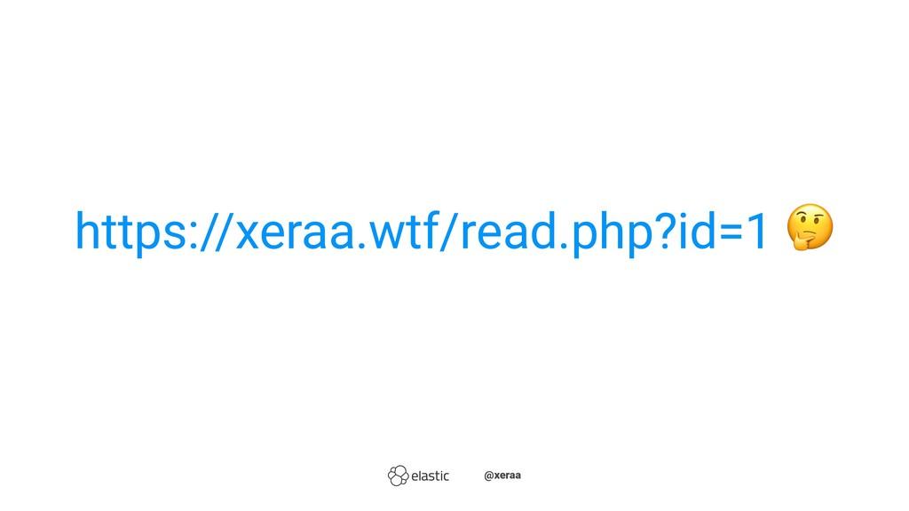 https://xeraa.wtf/read.php?id=1 ̴̴@xeraa