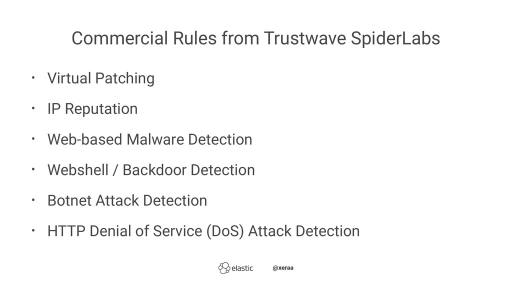 Commercial Rules from Trustwave SpiderLabs • Vi...