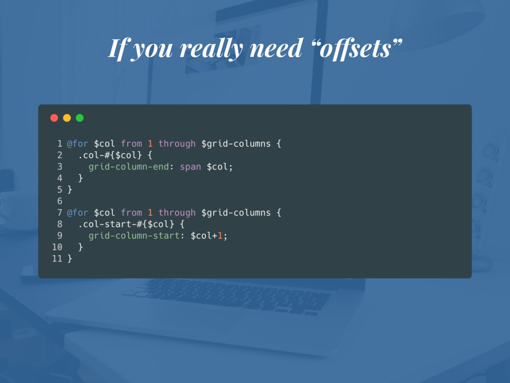 """If you really need """"offsets"""""""