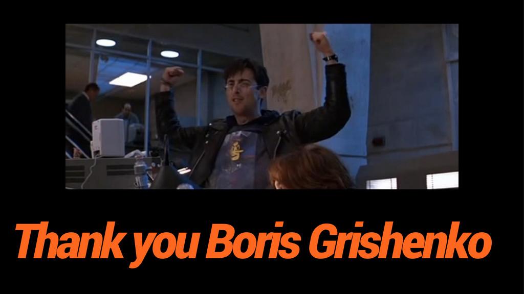 Thank you Boris Grishenko