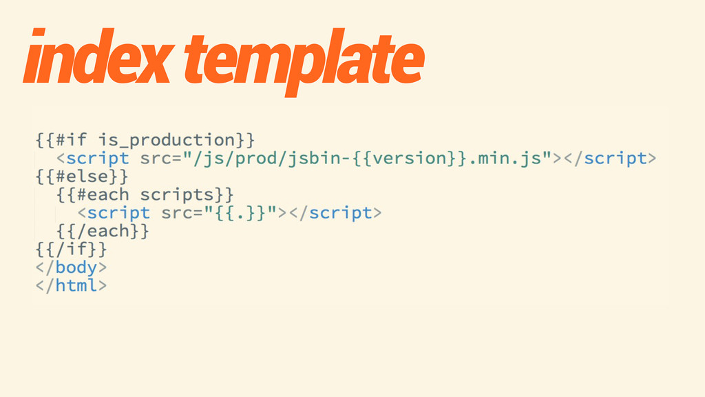 index template