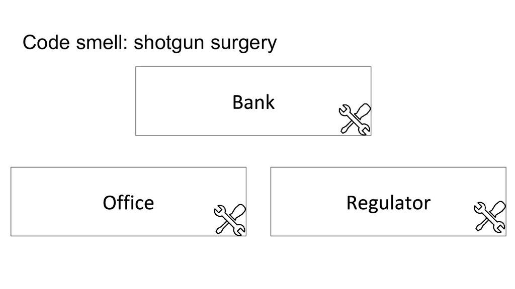 Code smell: shotgun surgery