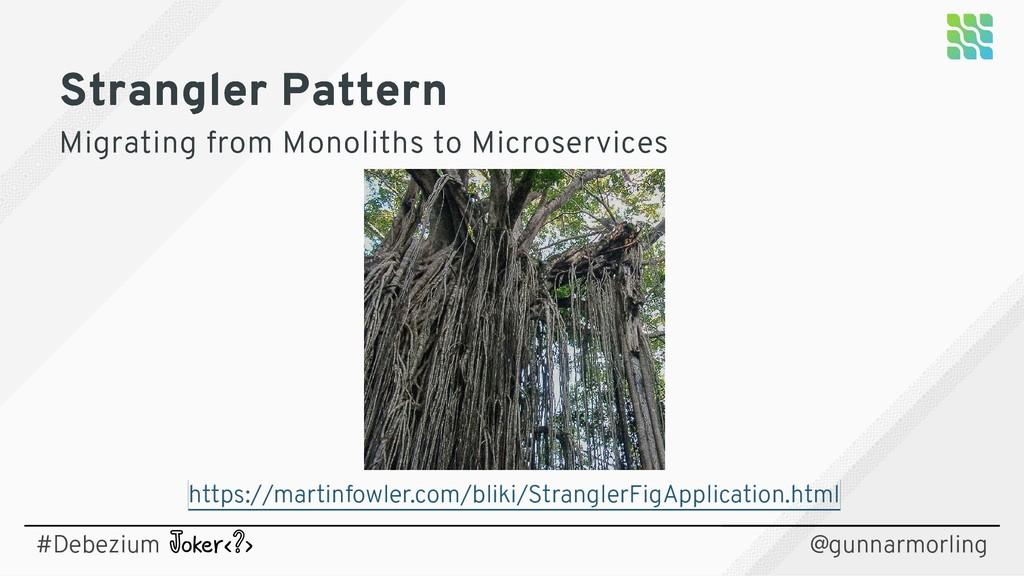 Strangler Pattern Strangler Pattern Migrating f...
