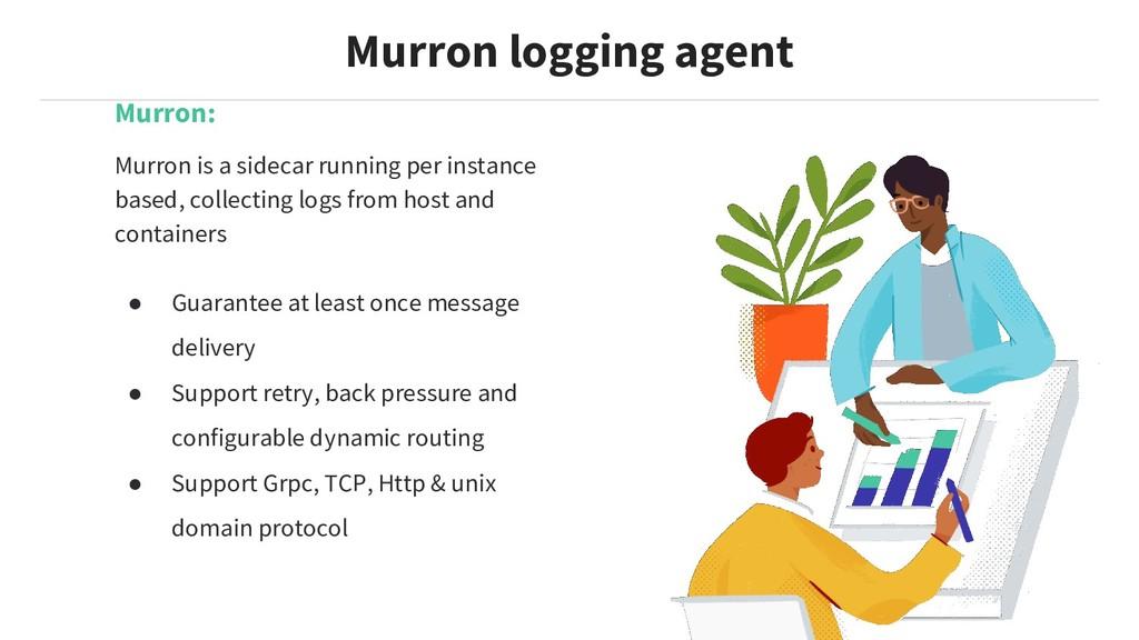Murron: Murron is a sidecar running per instanc...