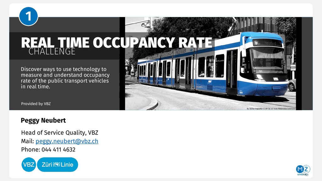 REAL TIME OCCUPANCY RATE CHALLENGE Discover way...