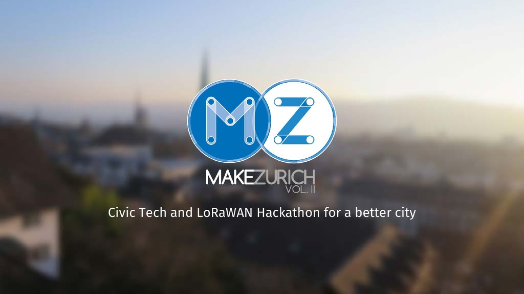 Civic Tech and LoRaWAN Hackathon for a better c...