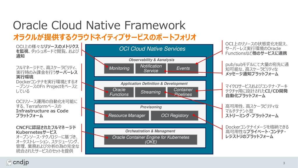 OCI Cloud Native Services Monitoring Notificati...