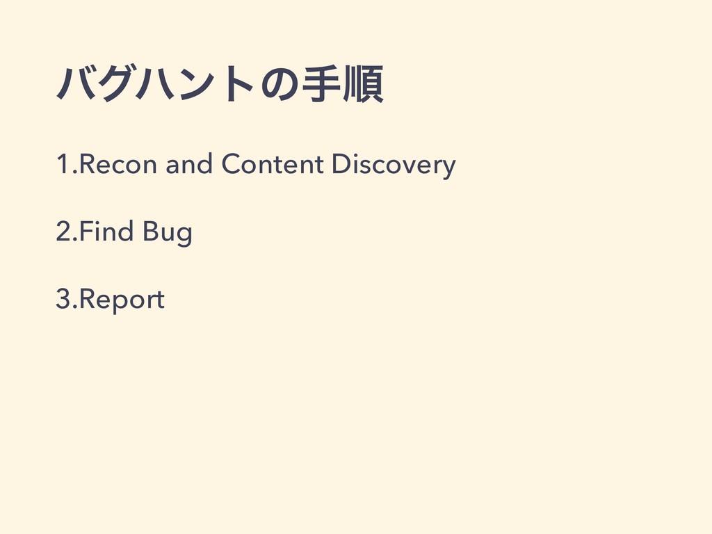όάϋϯτͷखॱ 1.Recon and Content Discovery 2.Find B...