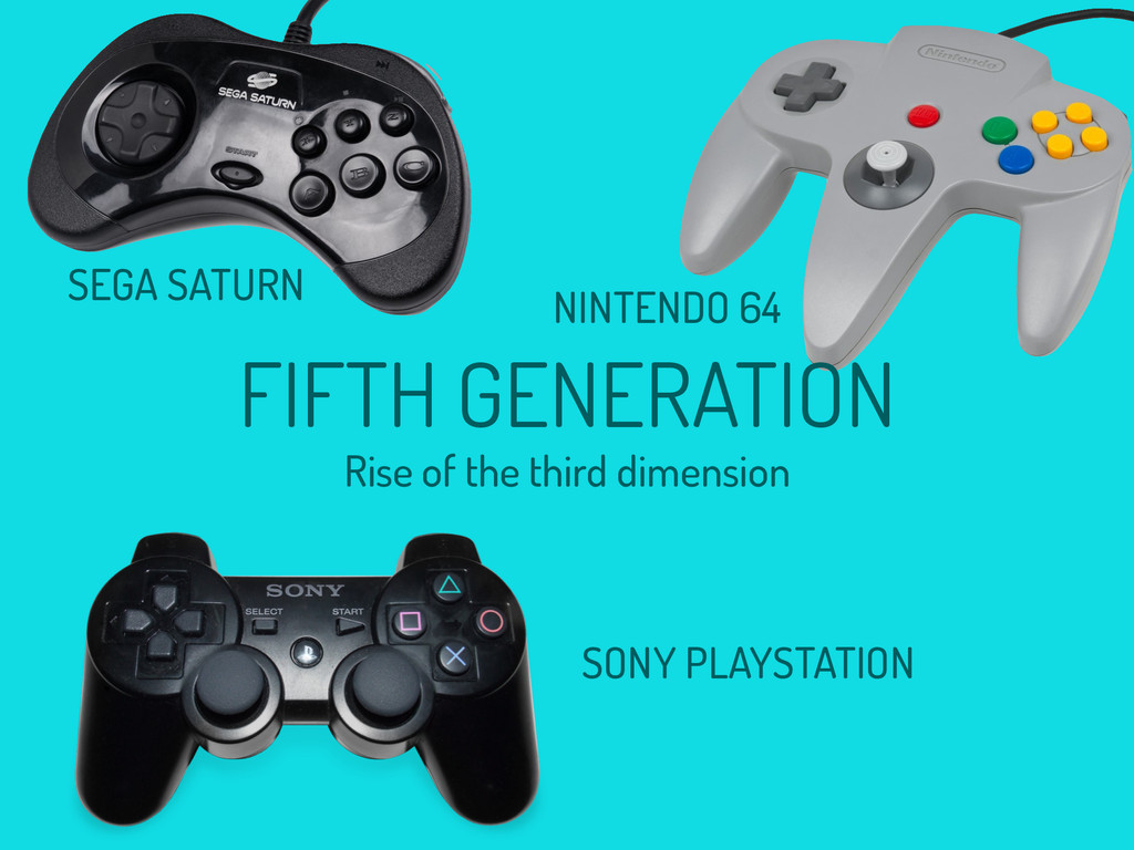 NINTENDO 64 SONY PLAYSTATION FIFTH GENERATION R...
