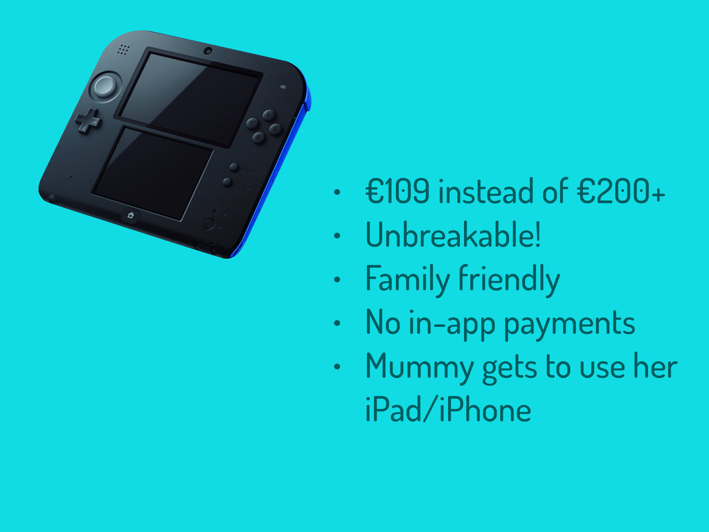 • €109 instead of €200+ • Unbreakable! • Family...