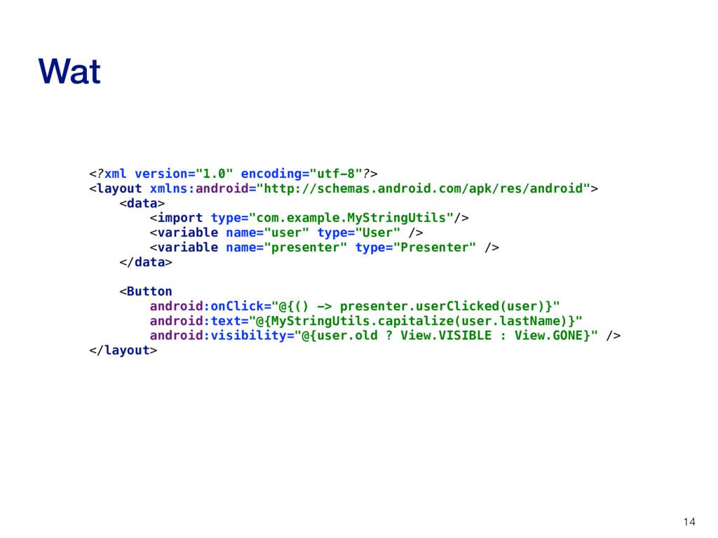 """Wat 14 <?xml version=""""1.0"""" encoding=""""utf-8""""?> <..."""