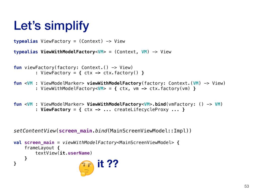 typealias ViewFactory = (Context) -> View typea...
