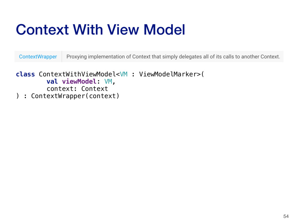 Context With View Model 54 class ContextWithVie...