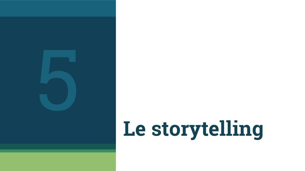 Le storytelling 5