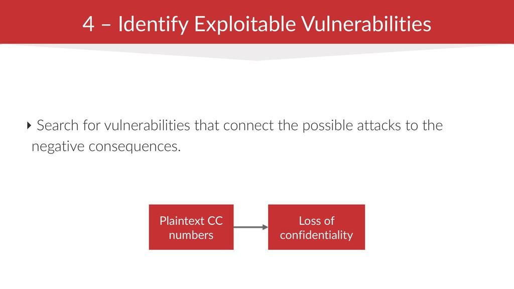 4 – Identify Exploitable Vulnerabilities ‣ Sear...