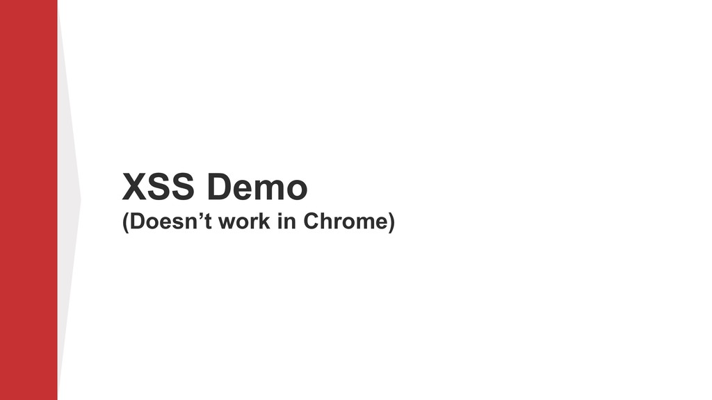 XSS Demo