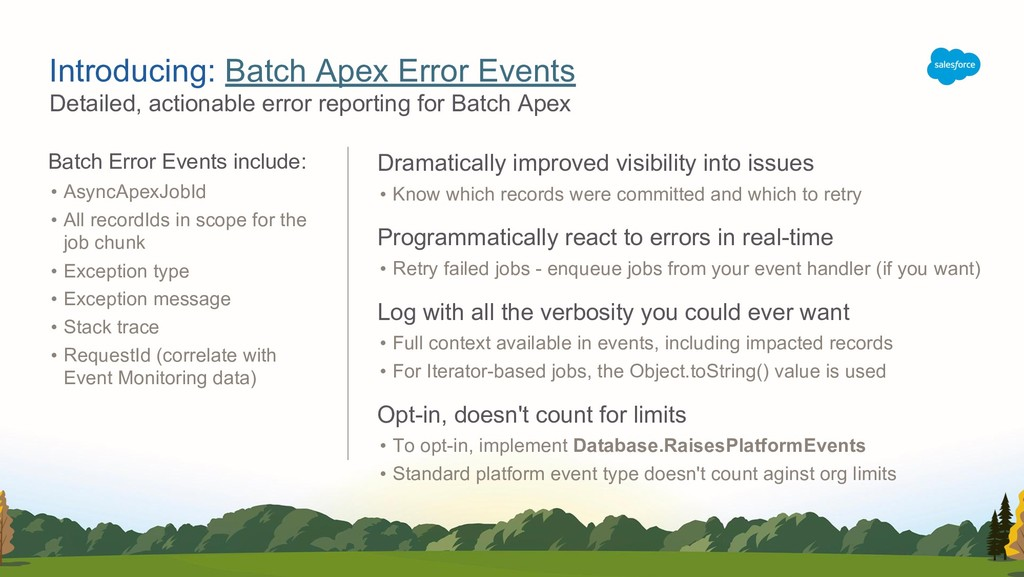 Detailed, actionable error reporting for Batch ...
