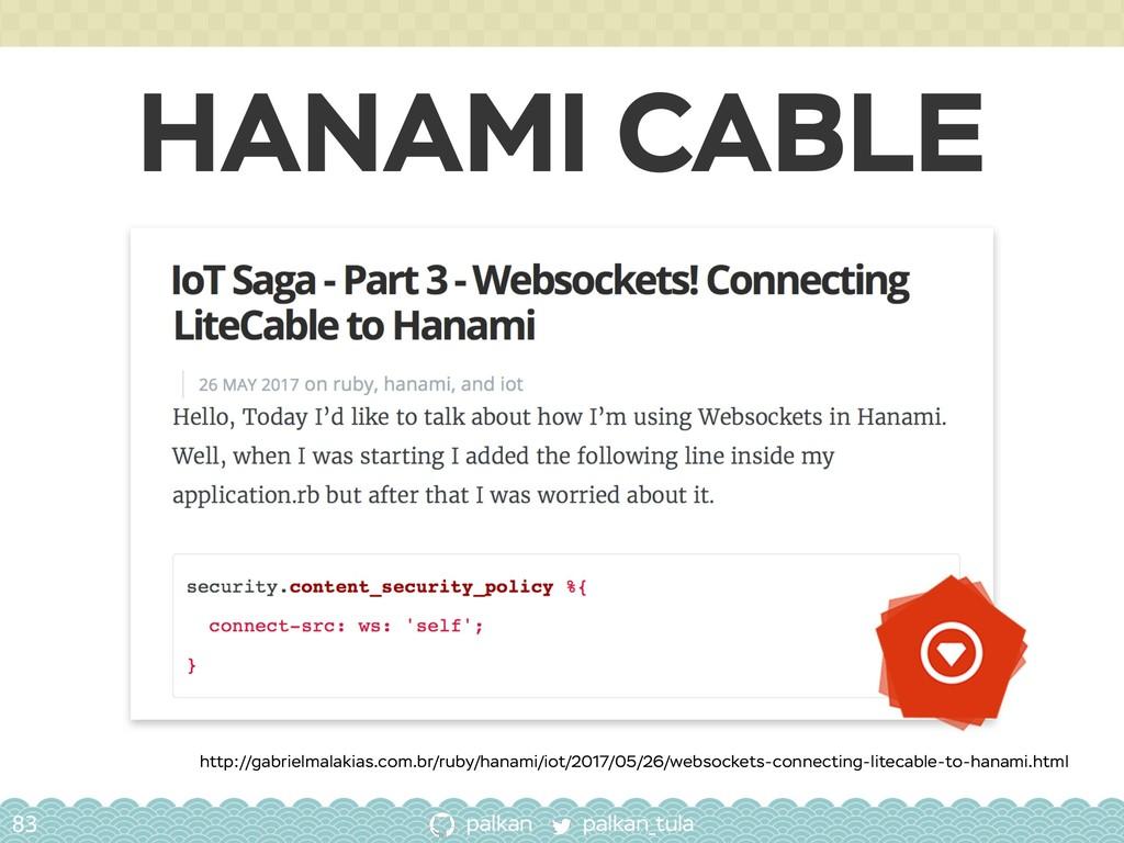 palkan_tula palkan HANAMI CABLE 83 http://gabri...