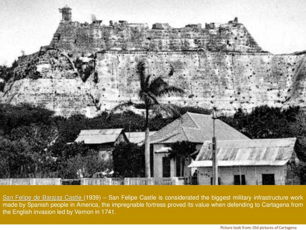 San Felipe de Barajas Castle (1939) – San Felip...