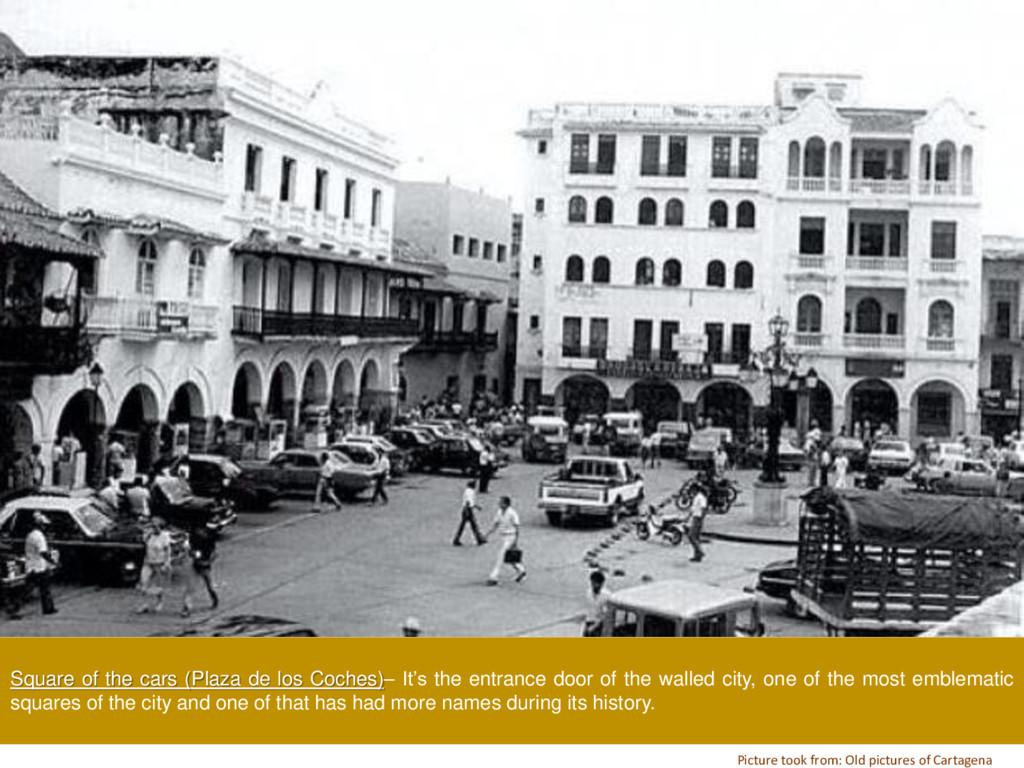 Square of the cars (Plaza de los Coches)– It's ...