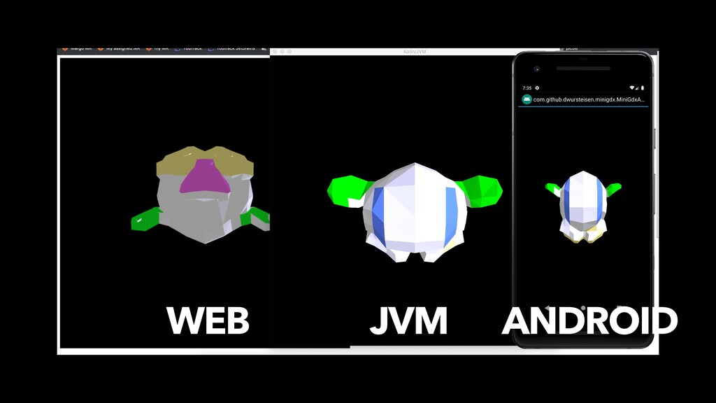 WEB JVM ANDROID